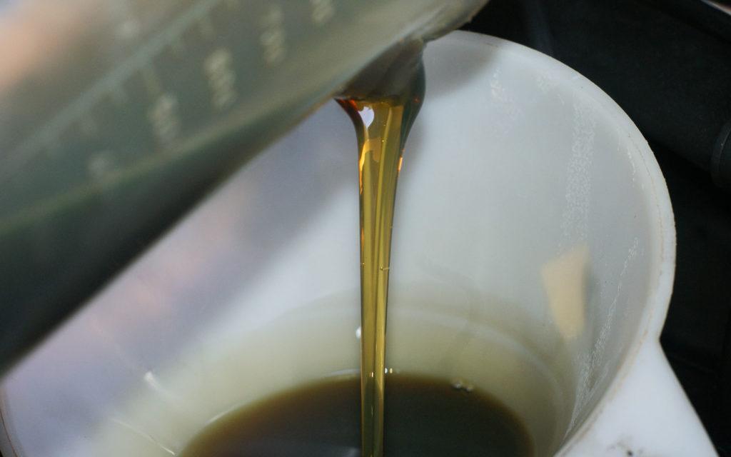 Frisches Motoröl schmiert am besten