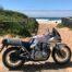 Toller Ausflug mit der Suzuki GSX1100 Katana zum Strand