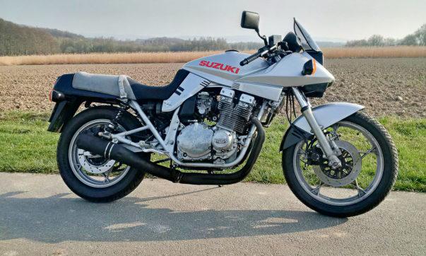 Die Legende der 1980er Jahre: Suzuki GSX 1100 Katana