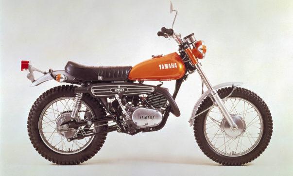 Eine der letzten Yamaha DT 1 von 1971