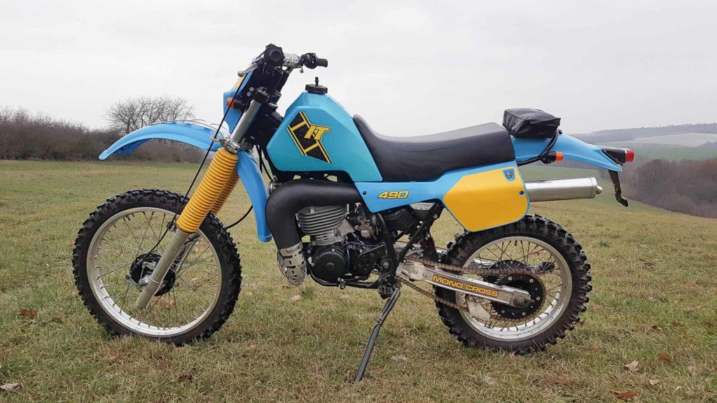 Die Yamaha IT 490 wurde von 1982 bis 1984 aufgelegt