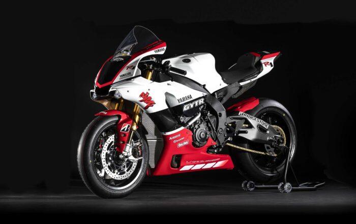 "Auf 20 Exemplare limitierte Replika Yamaha YZF-R1 GYTR ""20th Anniversary"""