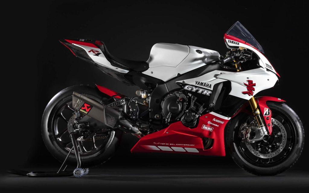 Yamaha bestückt die YZF-R1 mit Teilen aus dem Genuine Yamaha Technology Racing Programm