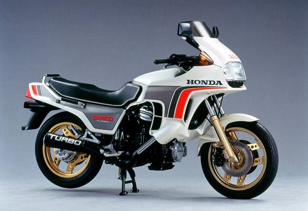 Die Honda CX 500 Turbo mit 82 PS bildete das Topmodell