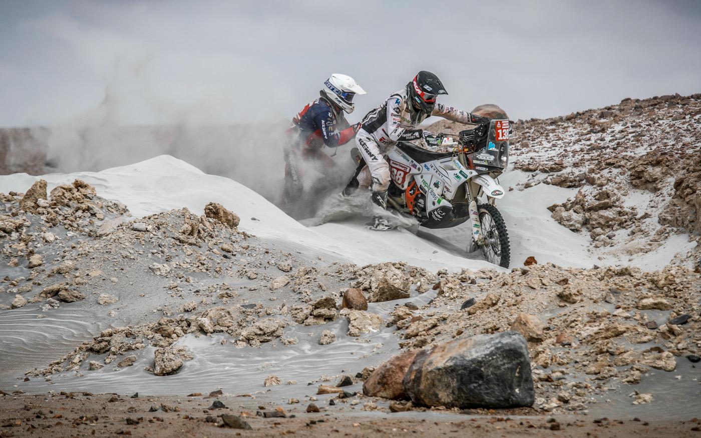 Während der 4. Etappe der Dakar 2019 am 10. Januar