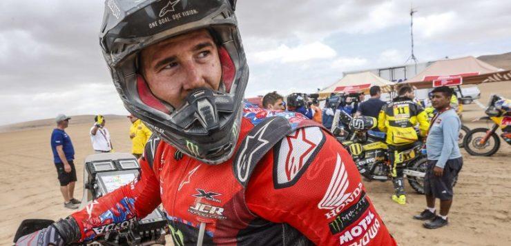 Ricky Brabec (Honda) siegte auf der 4. Etappe der Dakar 2019
