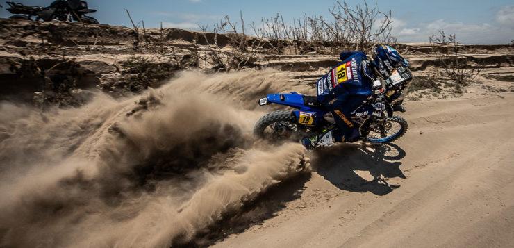 Xavier de Soultrait (Yamaha) liegt derzeit auf Rang 10 der Gesamtwertung