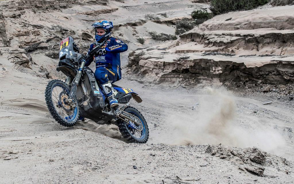 Die 3. Etappe der Dakar 2019 führte auch durch felsiges Gelände