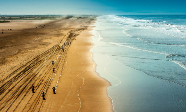 Massenstart zur 5. Etappe der Dakar 2019