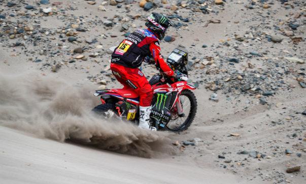 Ricky Brabec (USA) eroberte die Gesamtführung auf der 7. Etappe zurück