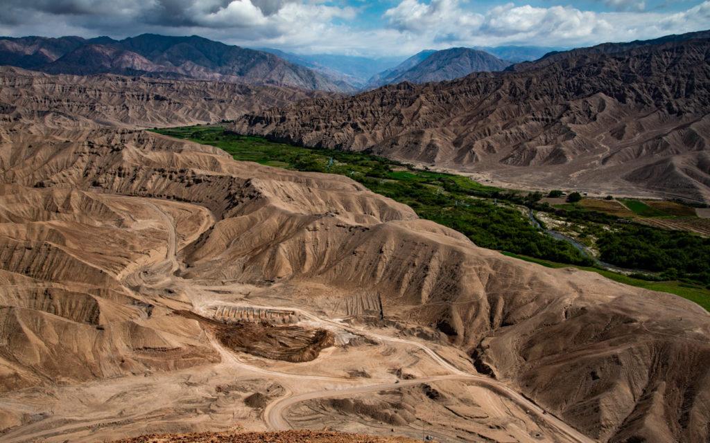 Leider bleibt keine Zeit die herrliche Landschaft während der Dakar 2019 zu genießen