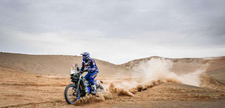 Xavier de Soultrait (Yamaha) kam auf der 3. Etappe von San Juan de Marcona nach Arequipa gut zurecht