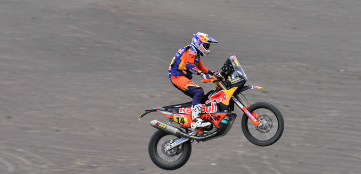 Der Brite Sam Sunderland überquerte als Fünfter die Ziellinie der 3.Etappe