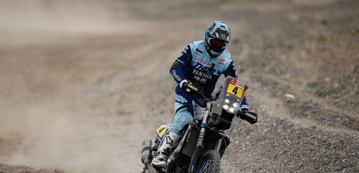 Adrien Van Beveren (Yamaha) lag auf Platz 4 über sechs Minuten zurück