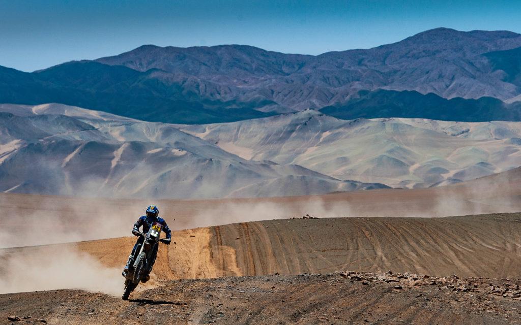 Xavier de Soultrait fuhr auf einen hervorragenden 2. Platz auf der 5. Etappe der Dakar 2019
