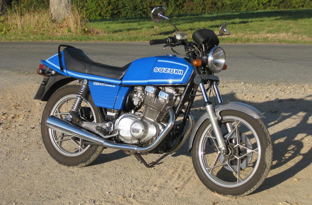 Suzuki Motorräder: Suzuki GSX 400