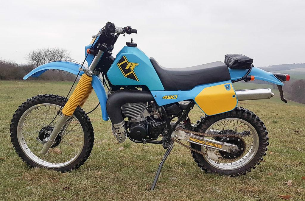 Yamaha Motorräder: Yamaha IT 490