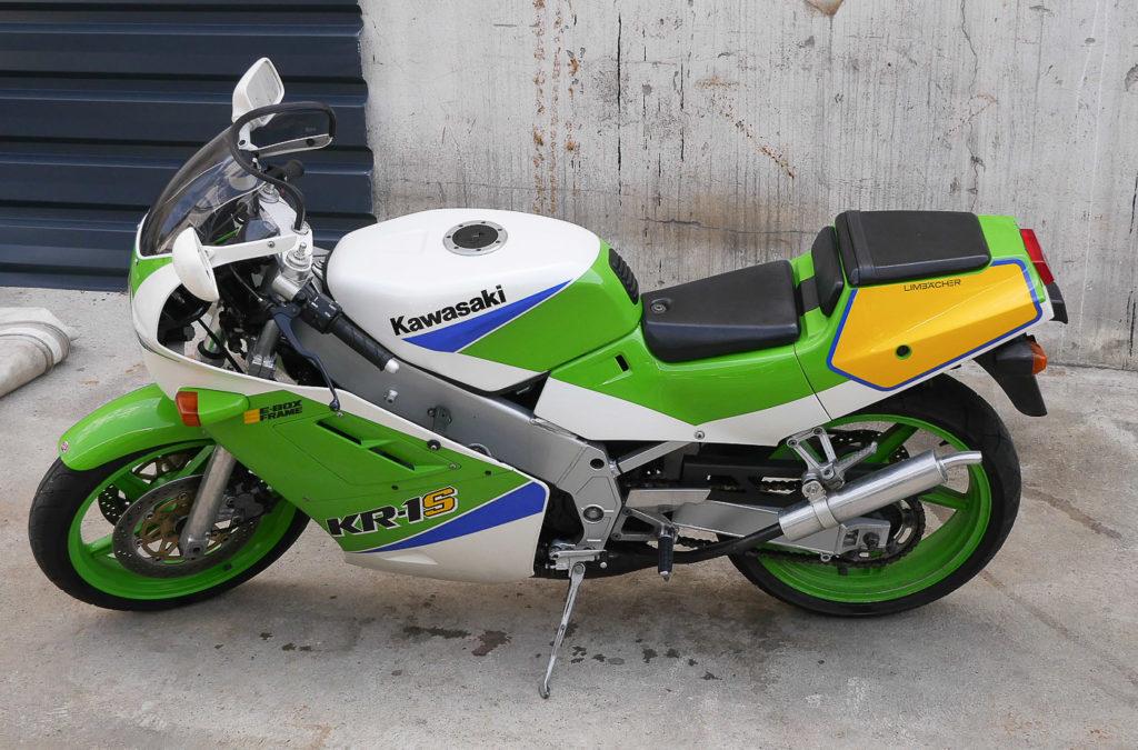 Kawasaki Motorräder: Kawasaki 250 KR1