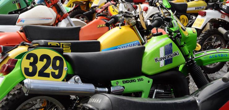In guter Gesellschaft: Kawasaki ERK KX 250