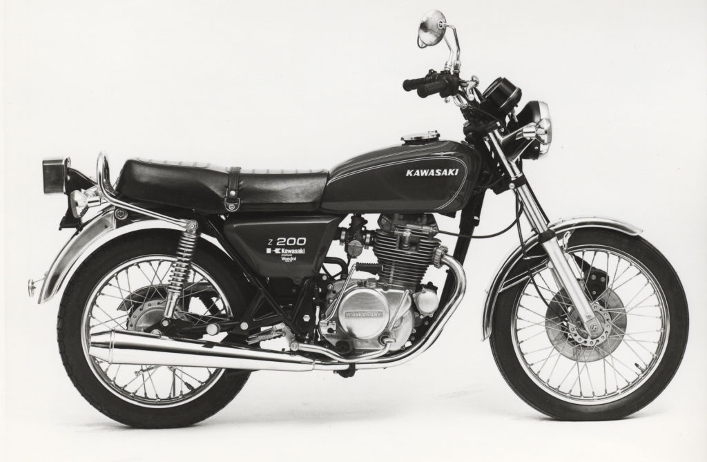 Kawasaki Motorräder: Kawasaki Z 200