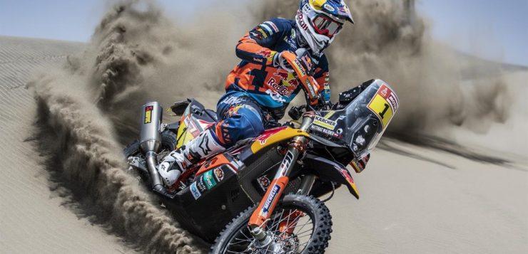 Matthias Walkner beendete die 1 Etappe der Dakar 2019 als 7.