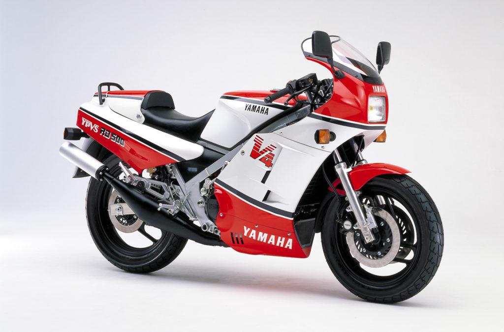 Yamaha Motorräder: Yamaha RD 500 YPVS