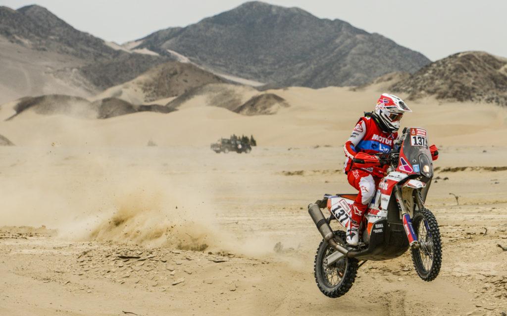 Nr 137: Dakar-Pilot Cesar Pardo aus Peru