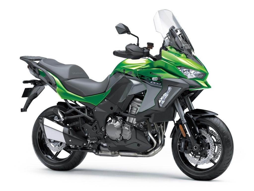 Kawasaki Versys 1000 Grand Tourer bietet eine üppige Ausstattung