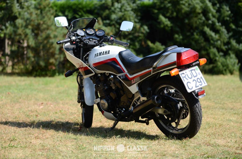 Yamaha Motorräder: Yamaha XJ 600 (51J)
