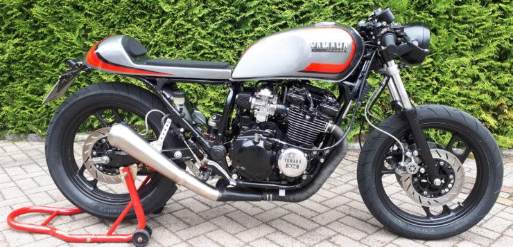 Der Yamaha XJ 600 Cafe Racer verlor 30 Kilogramm