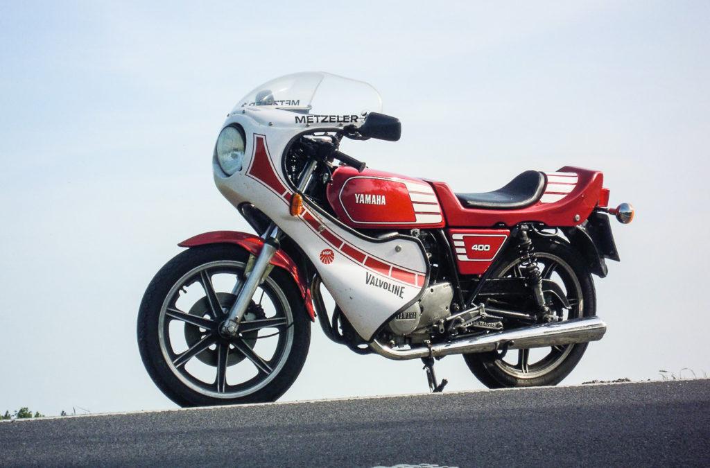 Yamaha Motorräder: Yamaha XS 400 Cup