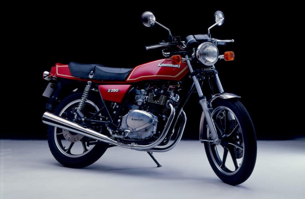 Kawasaki Motorräder: Kawasaki Z 250