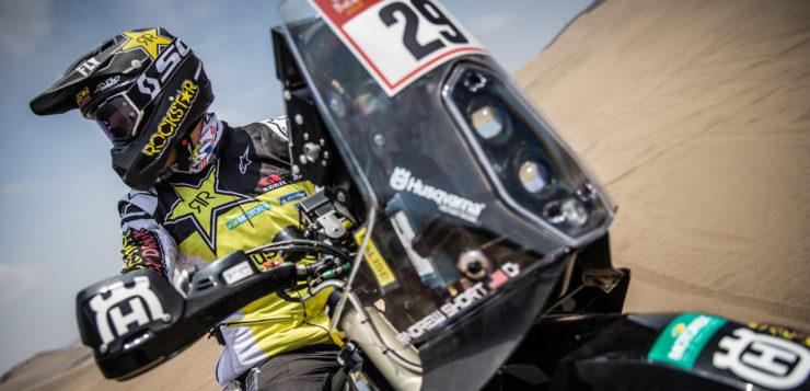 Andrew Short legte eine Super-Etappe hin - Platz 5 für ihn