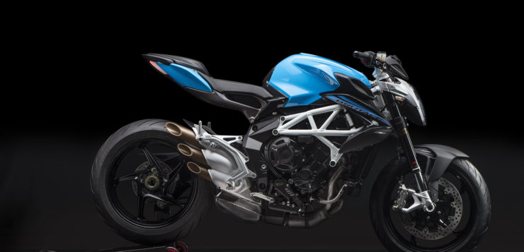 "MV Agusta Brutale 800 in ""Intense Sky Blue/Night Grey"""