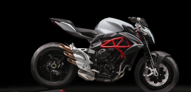 "MV Agusta Brutale 800 in ""Ice Grey/Aviation Grey"""