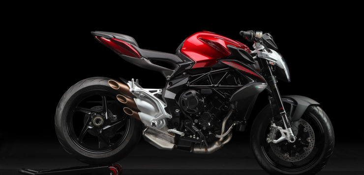 "MV Agusta Brutale 800 in ""Fire Red/Night Grey"""