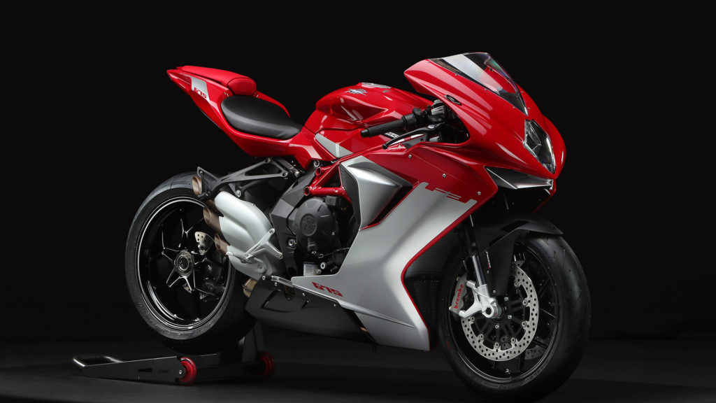 "MV Agusta F3 675 in ""Agostini Red/Agostini Silver"""