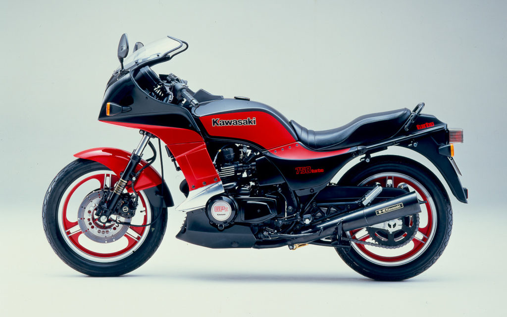 Die Kawasaki Z 750 Turbo kam 1983 auf den Markt