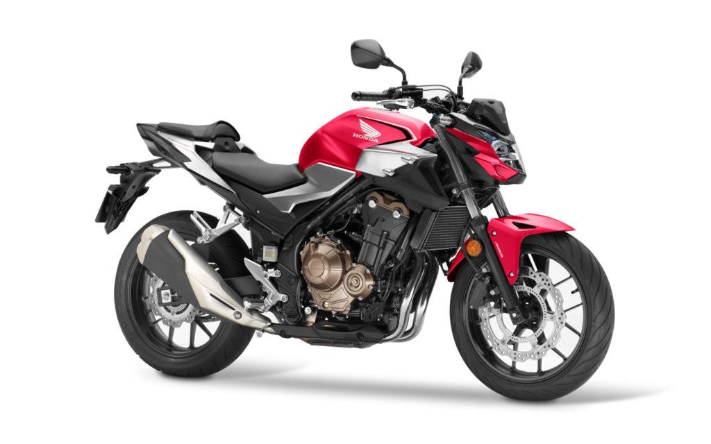Honda CB500F hat nun einen Doppelauslass-Schalldämpfer