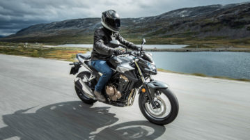 Honda CB500F im Modelljahr 2019
