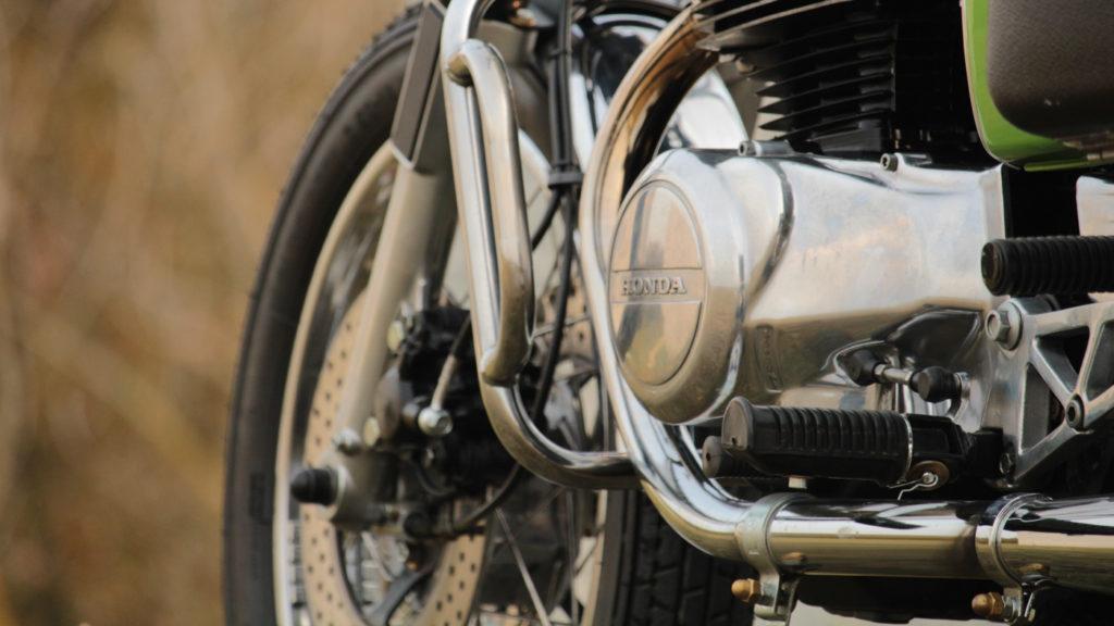Der Honda Motor bekam einige Teile aus anderen Modellen transplantiert