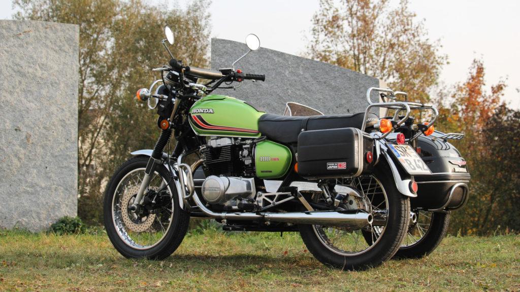 Honda CB 400 Look für das 450er Gespann