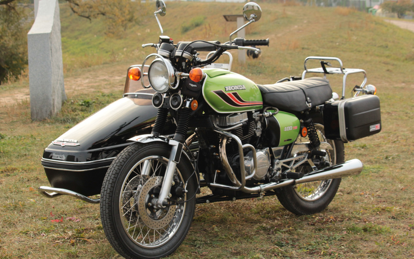 Honda CB 450 Gespann