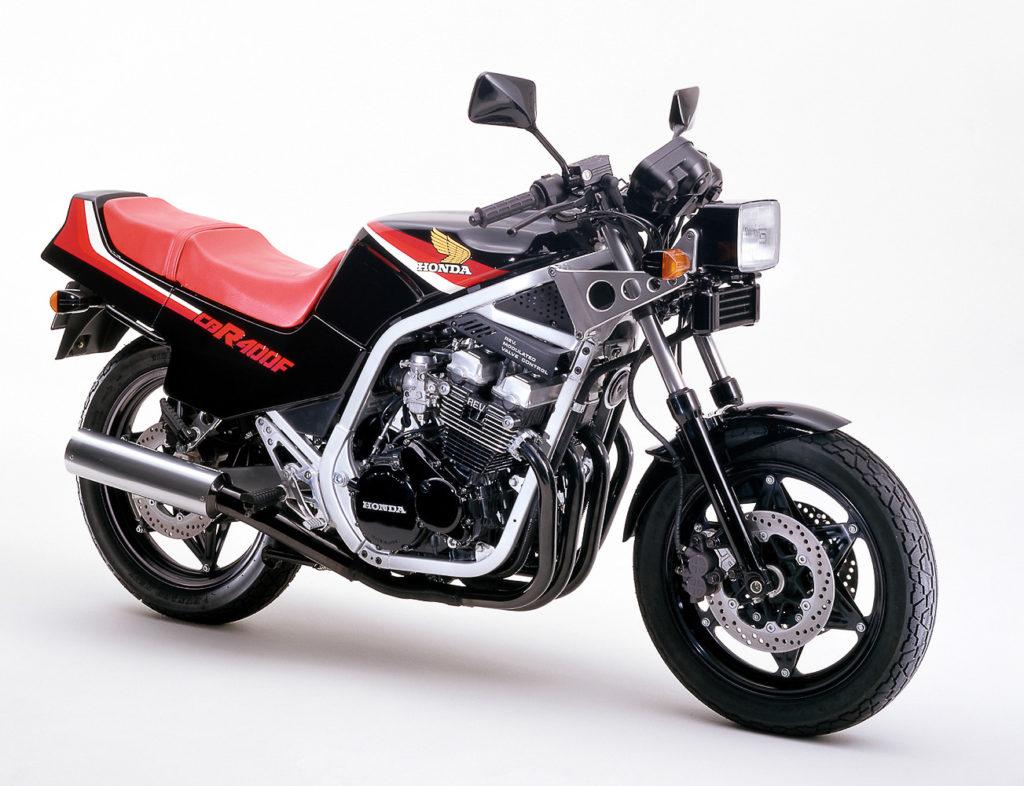 Die erste Honda CBR - die 400F von 1983