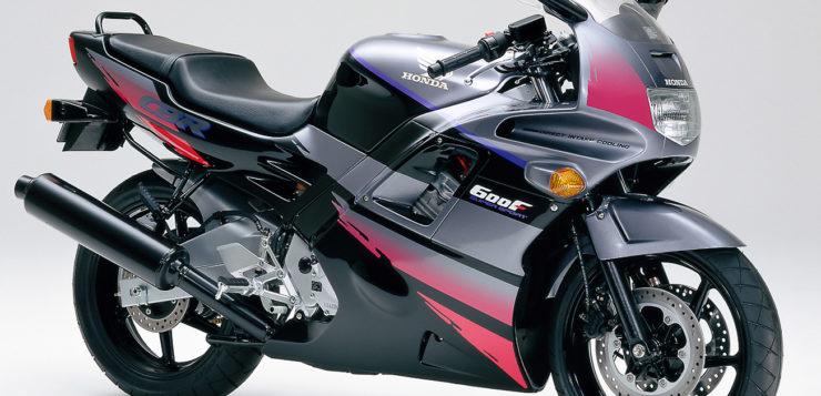 Die CBR600F, hier als Modell von 1992, war die erste vollverkleidete 600er