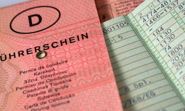 Muss bald getauscht werden - deutscher Führerschein