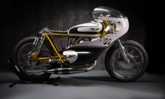 Messerscharfer Racer - Suzuki GT 250 Santoku von Exesor Motorcycles
