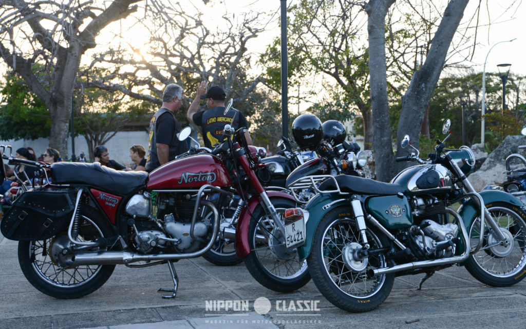 Aber nicht nur Harleys sind beim Treffen zu sehen