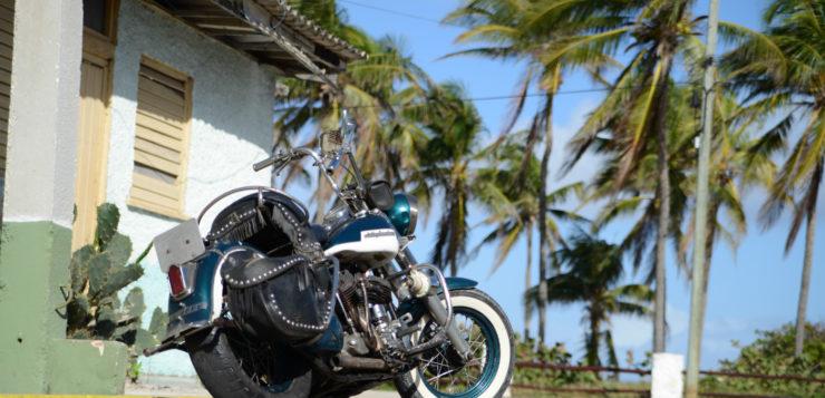 Defekte Harley Davidson