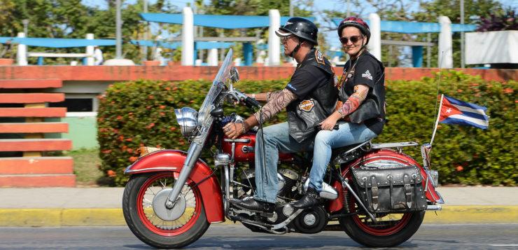 Die Harlistas Cubanos machen sich auf den Weg